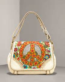 Would You Wear This Fiore Peace Out Shoulder Handbag by Shoe Daydreams September 2007