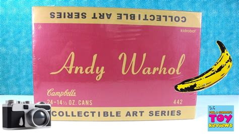 warhol basic art series 3836543893 andy warhol collectible art series soup cans full case opening pstoyreviews youtube