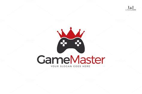 game design master game master logo logo templates on creative market
