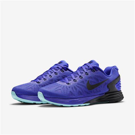 nike lunarglide 6 running shoes nike womens lunarglide 6 running shoes violet