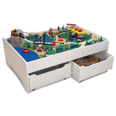 Kidkraft Table With Drawers by Kidkraft Table And Trundle Drawers Play Equipment