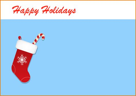 happy holidays card template greeting card template theveliger