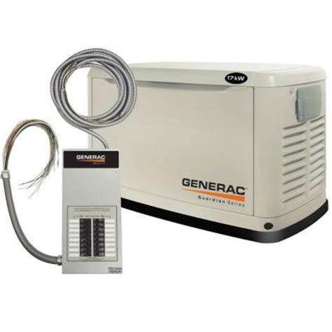generac 17 000 watt automatic standby generator with 100