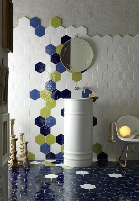 Tin Tiles For Backsplash In Kitchen 92 Best Hexagon Tile Looks Images On Pinterest Bathroom