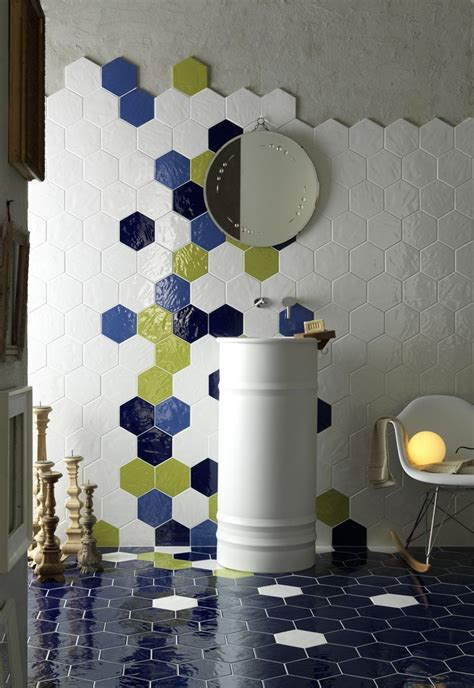Kitchen Decals For Backsplash by 92 Best Hexagon Tile Looks Images On Pinterest Bathroom