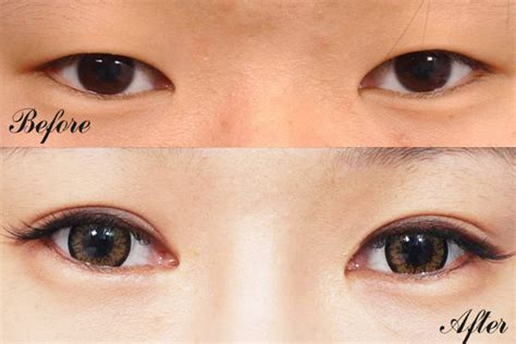 Salsa Eyelid Make Up Glue the gallery for gt asian eye makeup before and after