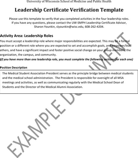 validation certificate template leadership certificate templates for free