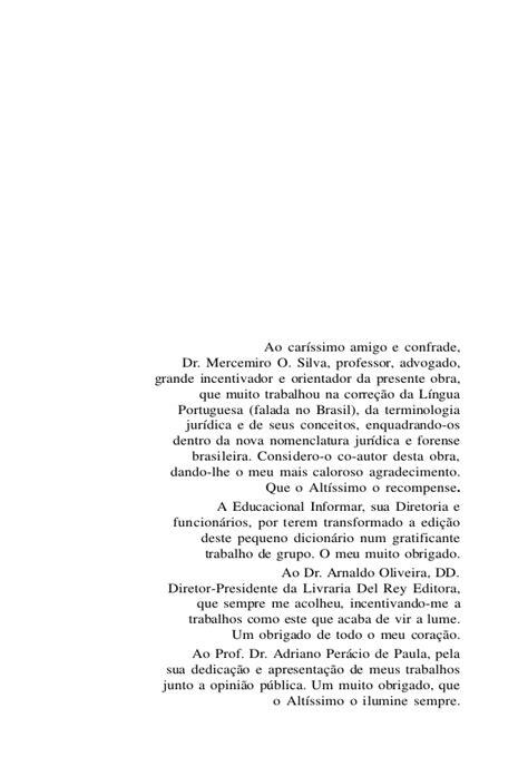 Dicionario Juridico Brasileiro - Washington dos Santos