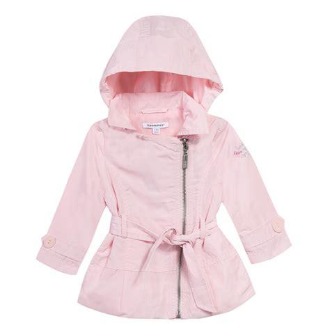 Coat Baby Pink 3 pommes baby pale pink raincoat bumpalumpa