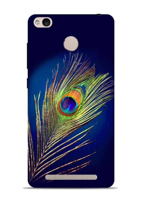 Buy Mor Pankh In Blue Krishna Xiaomi Redmi 3s Back Cover buy mor pankh in blue krishna xiaomi redmi 3s prime back