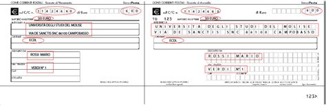 numero frazionario ufficio postale universit 224 degli studi molise come fare per