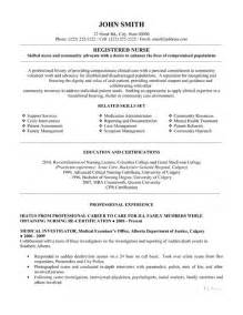 registered resume template premium resume sles