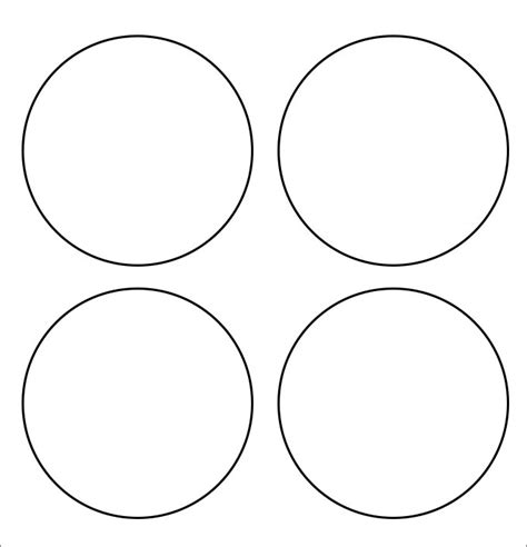 circle template printable circle template free premium templates