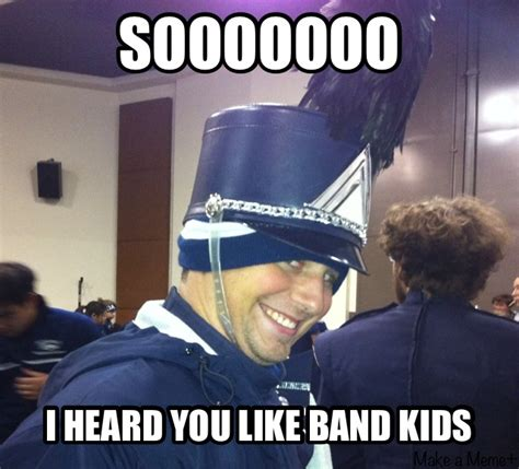 Band Memes - creepy band kid meme it s happening joey will be famous