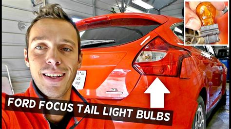 ford focus tail light cover replacement ford focus mk3 tail light stop light rear turn