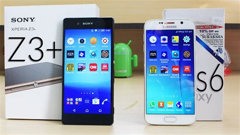 Xperia Z3 Plus sony xperia z3 plus vs galaxy s6 speed test 4k