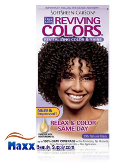 dark and lovely reviving colors semi permanent haircolor 393 softsheen carson dark and lovely semi permanent reviving