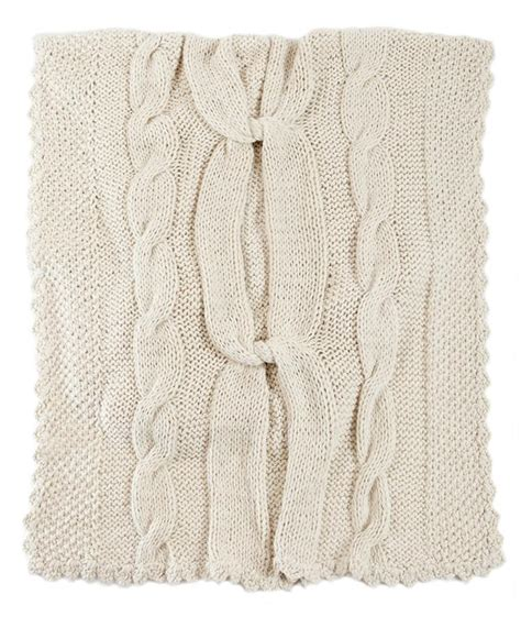 white knit blanket white knitted throw blanket knot homelosophy