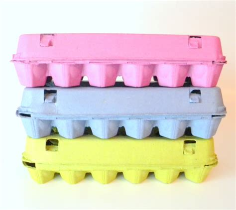 How To Make Egg Trays From Recycled Paper - 6 recycled paper pulp egg cartons choose your by