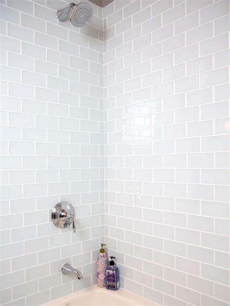 Installing Tile On Walls How To Install A Shower Tile Wall Hgtv