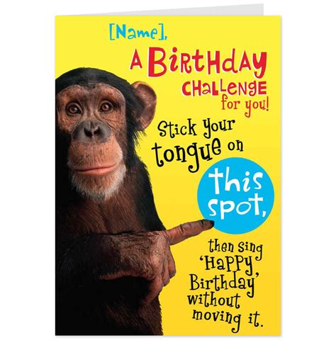 silly cards humorous birthday cards gangcraft net