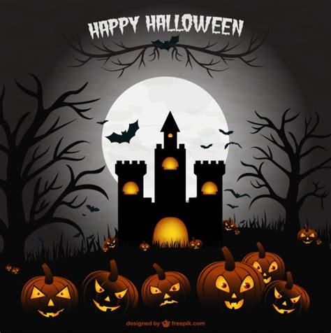 imagenes halloween para descargar vector castillo para halloween descargar vectores gratis