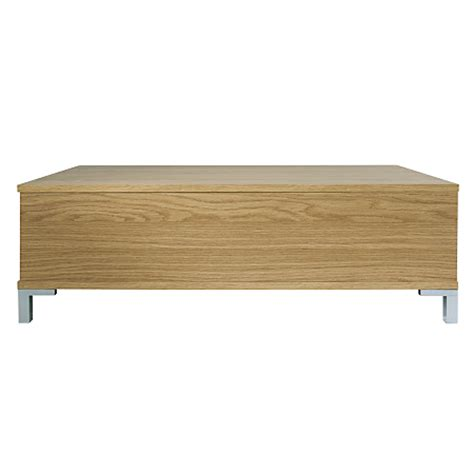 lowell 2 drawer occasional table oak effect coffee