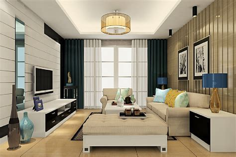 View In Gallery Dramatic Pendant Light Effect Living Room Living Room Pendant Lights