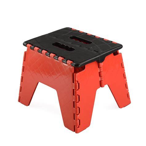 Folding Plastic Step Stool by New Plastic Multi Purpose Folding Step Stool Home Kitchen