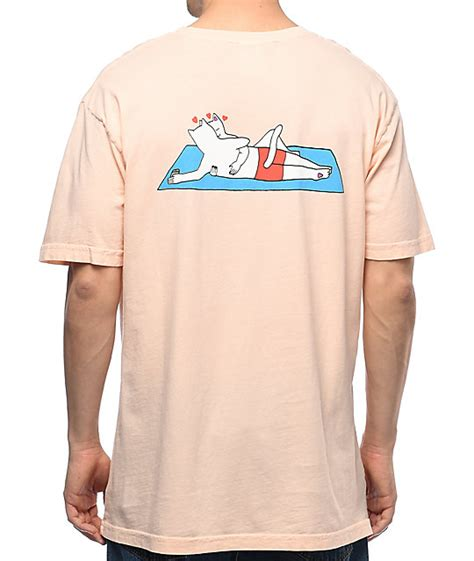 7 Must Shirts by Ripndip Must Be Salmon T Shirt Zumiez