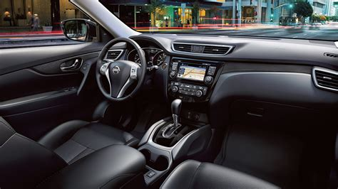 black nissan rogue interior 2016 nissan rogue crossover features nissan canada