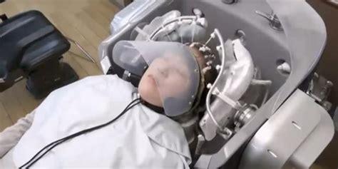 Kursi Pijat Panasonic di jepang telah tercipta robot untuk keramas rambut