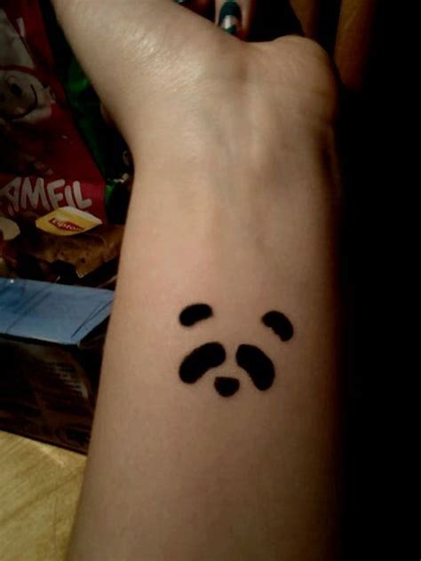 panda tattoo ideas 9 panda wrist tattoos