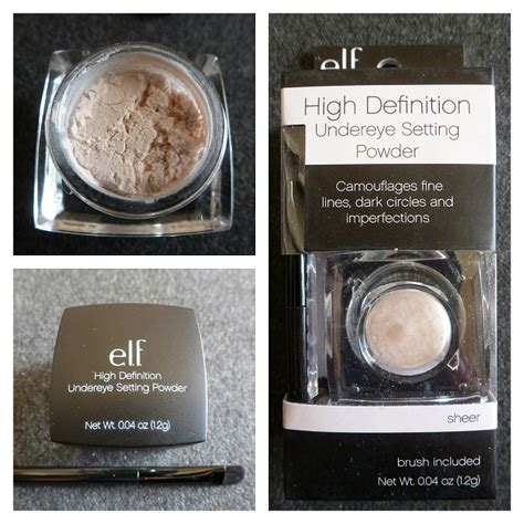 e l f high definition undereye setting powder shespeaks