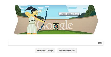 doodle you can play doodle 2012 archery ako