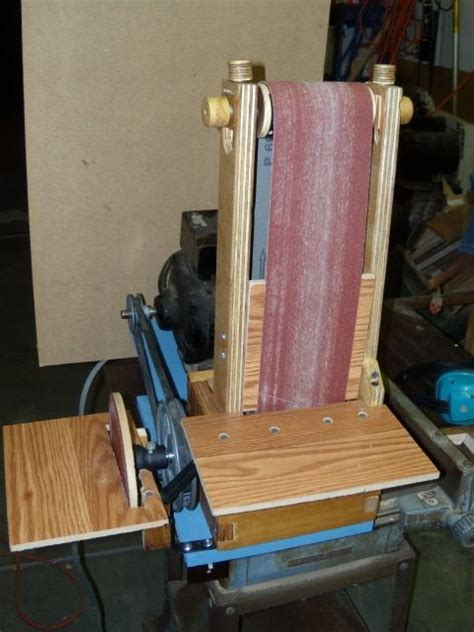 homemade belt sander plans woodworking projects plans