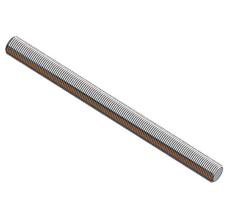 L Threaded Rod by 3 8 Quot 16 All Threaded 304 Stainless Mounting Rod Cut To