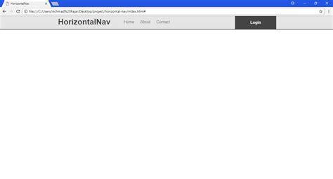membuat navbar dengan css cara membuat responsive navigation menu dengan menggunakan