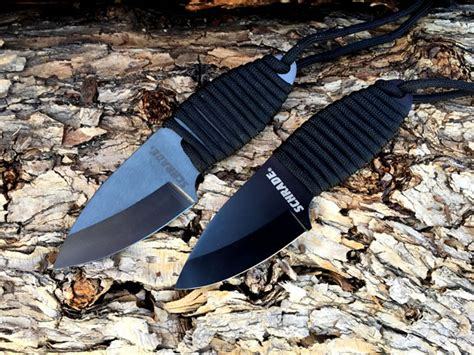 schrade sch406 schrade sch406 and sch406n neck knife reviewed