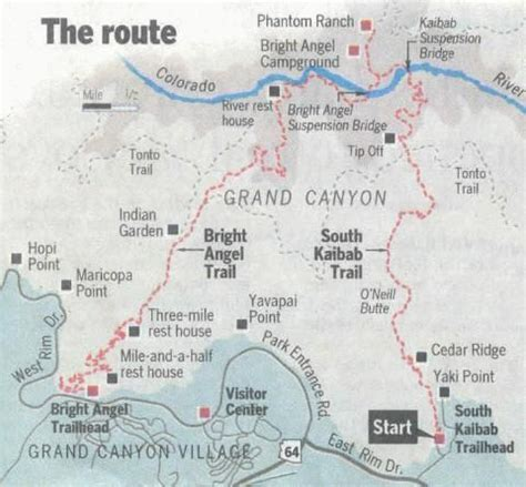 grand map south kaibab trail 25 best ideas about grand map on grand