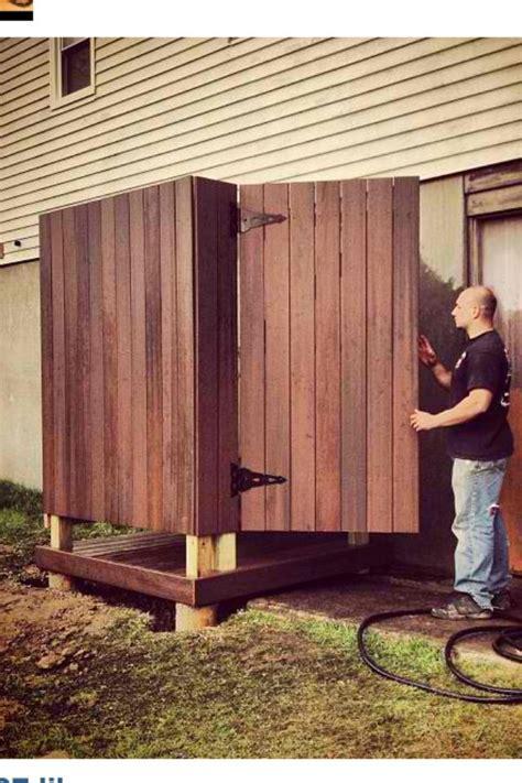 outdoor shower deck outdoor shower made from trex decking decks