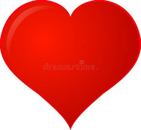 cuore clipart cuore rosso di clipart illustrazione vettoriale