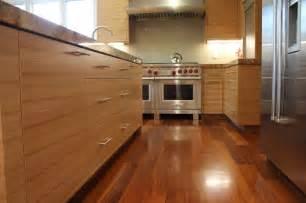 Horizontal Grain Kitchen Cabinets Horizontal Grain Modern Kitchen San Francisco By Roth Wood Products