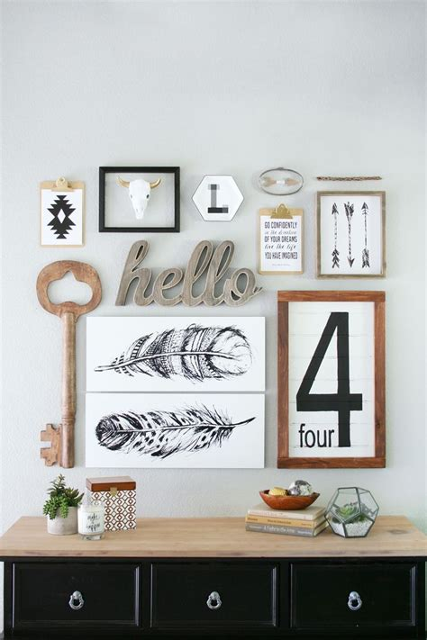 wall decorating meaningful wall decor with gallery walls diy better homes