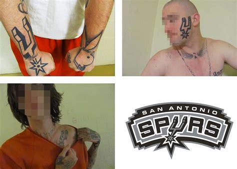 tattoo logo brand brand new spurs logo gang tattoos