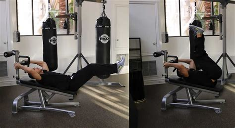 leg lifts on bench leg lifts on decline bench the optimal you online