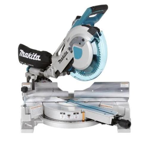 makita 10 in dual slide compound miter saw with laser