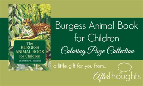 the burgess animal book for children books the burgess animal book for children coloring page