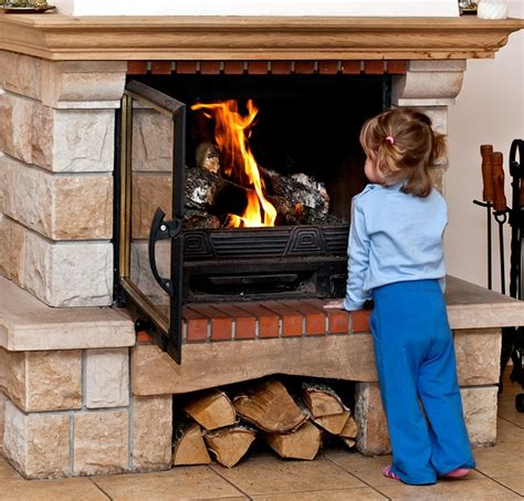 add glass doors to your fireplace tips from ct chimney