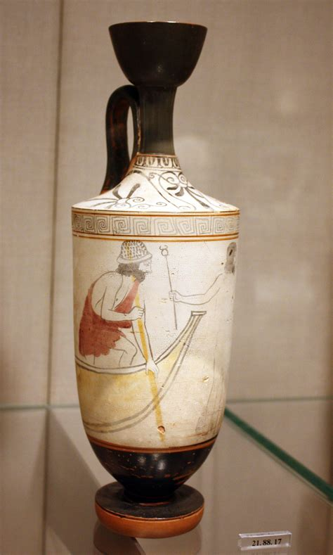 What Was The Lekythos Vase Used For by Attic Lekythos Illustration Ancient History Encyclopedia